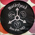 "Original Motorhead ""Iron Fist"" Tour Woven Patch."
