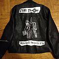 Sore Throat - Battle Jacket - Leather Jacket