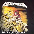 Helloween - Walls Of Jericho - T-Shirt - Black - Medium