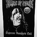 Cradle Of Filth - Supreme Vampyric Evil - Backpatch