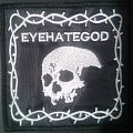 Eyehategod DIY Embroidered Patch