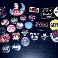 pins dio, the great kat, infernal majesty, blood feast, necrovore, hazael, death, nifelheim, slayer etc.