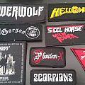 patches kiss, powerwolf, helloween, gorgon, steel horse, phantom-x, scorpions