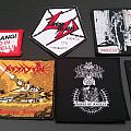 patches mystifier, assassin, darkthrone, living death, aosoth