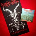 ROTTING CHRIST: official 'Thy Mighty Contract' art flag Other Collectable