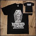 Sentenced - TShirt or Longsleeve - Rotting Ways To Misery: The History of Finnish Death Metal shirt (UK version)