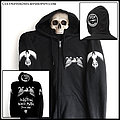 MYSTICUM: official 'Never Stop The Madness' zip hoodie Hooded Top