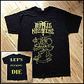 IMPALED NAZARENE. Official Suomi Finland Perkele / Let's Fucking Die shirt