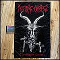 ROTTING CHRIST: official Thy Mighty Contract large flag  (mk2) Other Collectable