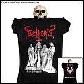 Beherit - TShirt or Longsleeve - BEHERIT: official 'Satanic Metal Temple' girlie