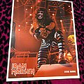 Iron Maiden - Other Collectable - Iron Maiden - Steve Harris Signed Photocard