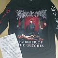 "Cradle Of Filth ""The Inquisitional Tourture 2015"" Longsleeve +Setlist"