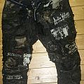 Patched pants