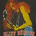 Metallica - TShirt or Longsleeve - Tribute to Cliff Burton