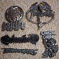 Old school Death Metal badges