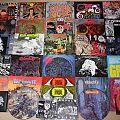 Earache Records vinyl collection