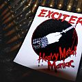 Exciter - Patch - Exciter - Heavy Metal Maniac Tribute Patch
