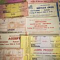 My first concert tickets/Last concert with Cliff Burton Other Collectable