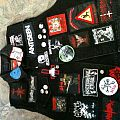 Battle Jacket - A jacket with patches