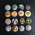 Kiss - vintage buttons