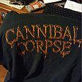 Cannibal Corpse Fall Tour 2015 shirt