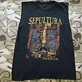 Sepultura - TShirt or Longsleeve - Sepultura - Chaos AD / tshirt with cutsleeves