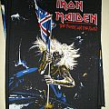 Iron Maiden - Patch - Iron Maiden - The Beast On The Road BP