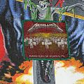 Patch - Metallica Master Of Puppets woven first version