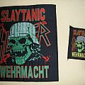 Slayer - Slaytanic Wehrmacht woven BP Patch