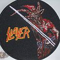 Slayer - Patch - Show No Mercy bootleg patch SAMPLE