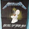 Metallica - Patch - Metallica - Metal Up Your Ass BP