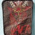 Slayer - Show No Mercy Head silk screen print Patch