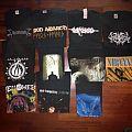 Lot of shirts (Shining, Carcass, Amon Amarth, Opeth...)