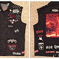 Candlemass - Battle Jacket - Black, white and red vest - one year out