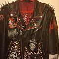 Leather jacket - metal/punk