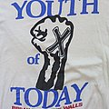 Youth Of Today - BDTW 1989 Euro tour shirt