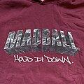 MADBALL - Hooded Top - MADBALL -  Hold It Down 2000 hoodie