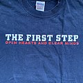 The First Step - TShirt or Longsleeve - The First Step - Open Hearts And Clear Minds 2004 shirt