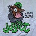 Justice - Go Vegetarian 2005 shirt