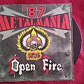Stos - Tape / Vinyl / CD / Recording etc - Metalmania 87 Stos/Open Fire LP