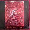 Kreator - Tape / Vinyl / CD / Recording etc - Kreator - Pleasure To Kill LP + Signatures
