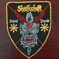Shitfucker - Devil Punk Shield patch