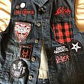 Slayer - Battle Jacket - Red n Black