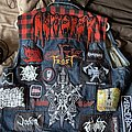 Amon Amarth - Battle Jacket - Update on my red and black vest
