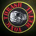Toxic holocaust - Toxic Thrash Metal Skull Patch