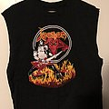 Cronos On Fire cutoff TShirt or Longsleeve