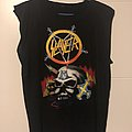 Late 80s Slayer Bootleg TShirt or Longsleeve