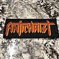 Antichrist logo patch