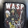 W.A.S.P. skull patch
