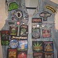 Old school / new school thrash metal battle jacket